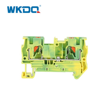 Front Entry DIN Rail Terminal Block