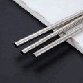 Food Grade Silver Drinking Mixing Spoon Straw