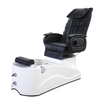 Pedicure Chair White Pearl Tub White