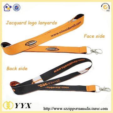 Airline safety buckle seat belt jacquard lanyards