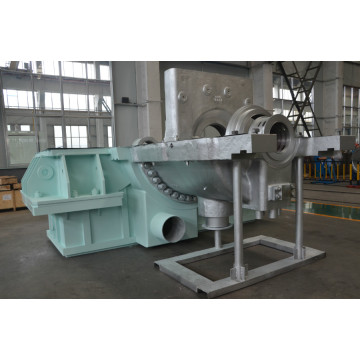 Extraction and Condensing Steam Turbine from QNP