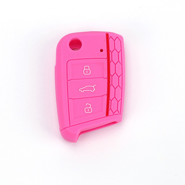 3 Buttons Car Key Case For Silicone Cover