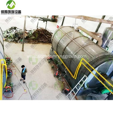 Automatic Tyre Pyrolysis Reactor