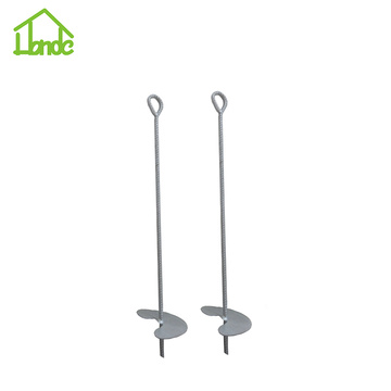 Ground Earth Anchor for Gazebos