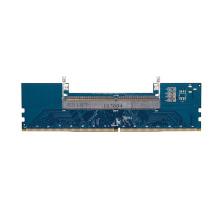 Laptop DDR4 SO-DIMM to Desktop DIMM Memory RAM Connector Adapter Desktop PC Memory Cards Converter Adaptor