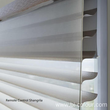 Remote Control Shangrila Sheer Shades