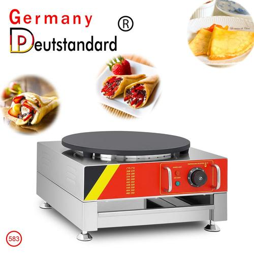 Single head electric crepe maker machine with stainless steel for good sale