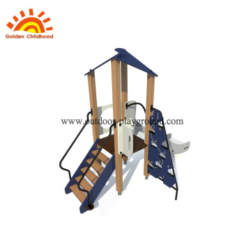 HPL Navy outdoor play structure for kids