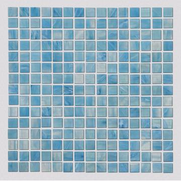 Glass mosaic tiles for commercial swimming pool decoration