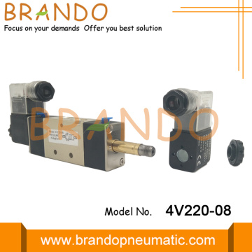 4V220-08 Double Coil Air Control Solenoid Valve