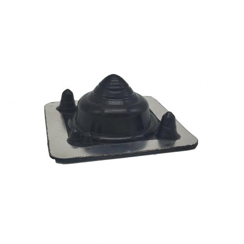 Silicone Square-base Retrofit 5-55MM Pipe Boots Flashing