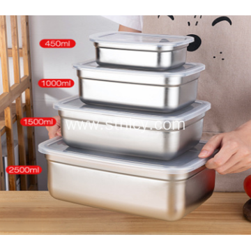 Stainless Steel Food Student Lunch Box Sample Box