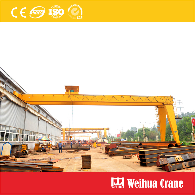 Semi Gantry Crane Double Girder