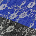 100% Polyester Embroidery Soft Tulle Mesh Lace Fabric