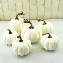 6Pcs Halloween Pumpkin Foam Toy Artificial Mini Pumpkin Simulation Prop Garden Party Decoration