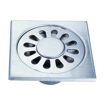 Stainless steel floor drain durable