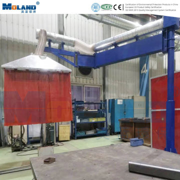 Welding Station Extraction System Dust Hood Fume Collection