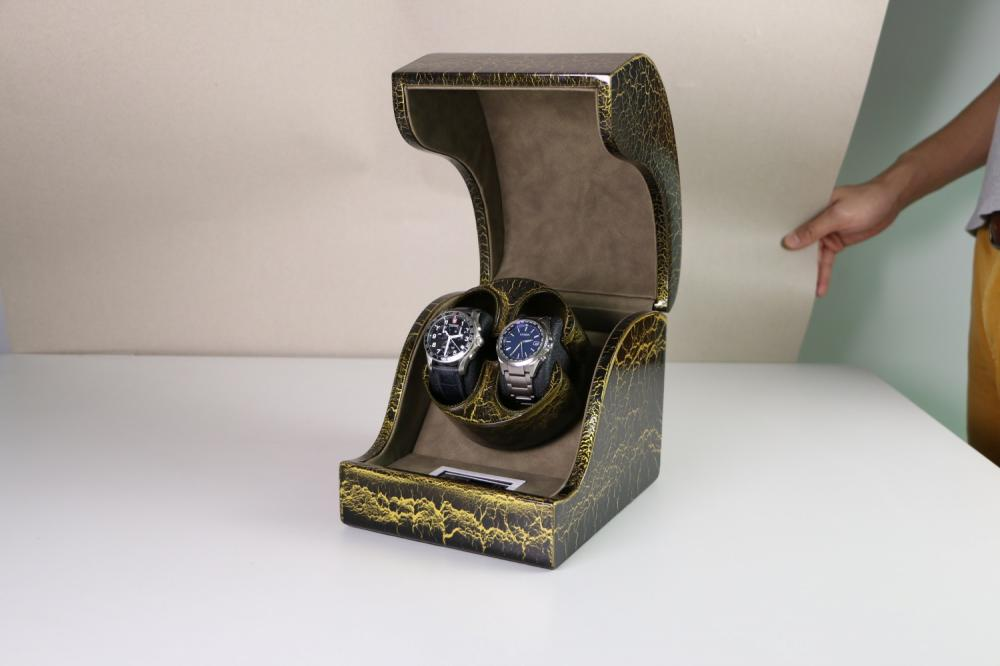Green Winder Box For Mechanical Watches