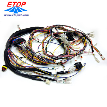 Custom Auto ECU Connector Dashboard Wire Harness