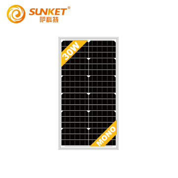 30W solar panel charger off grid mini panels
