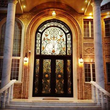 Wrought Iron Front Doors For Sale