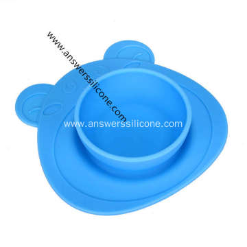 BFA free silicone collapsible dog bowl for travel