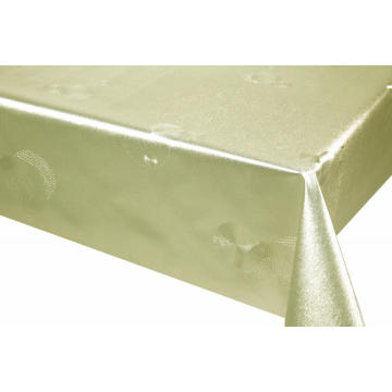 Best Quality Silver Gold Tablecloth