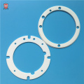Industrial Alsint Alumina Ceramic Sealing Ring Flange