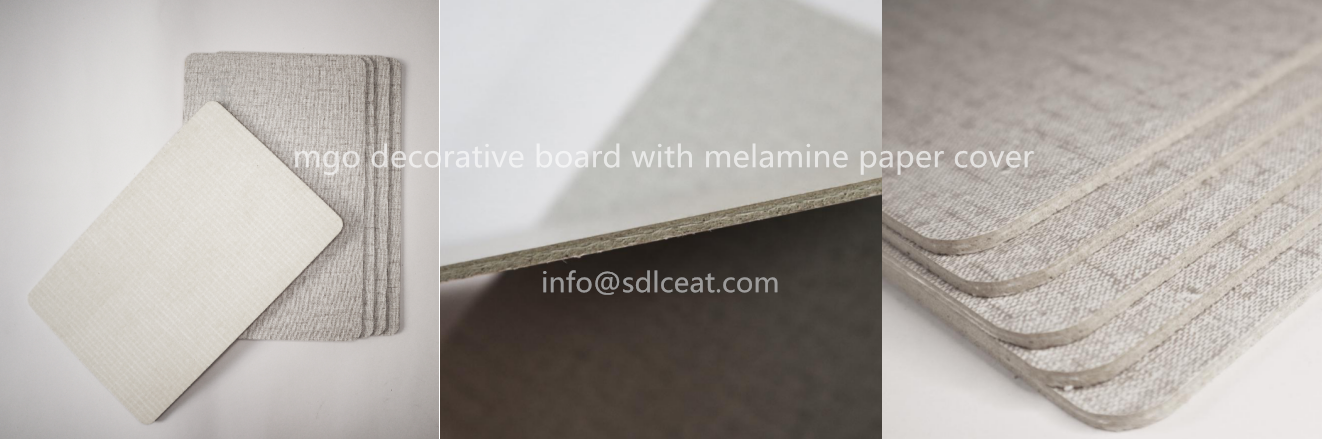 melamine decorative board is laminated with melamine-impregnated paper