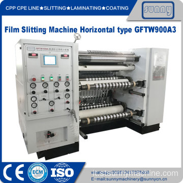 Film di materia plastica Machinery Slittng
