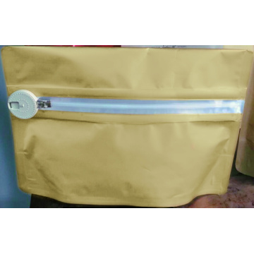 Child Resistant Bag with Zipper