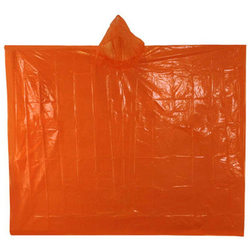 Custom Fashion Cheap PE Disposable Rain Poncho