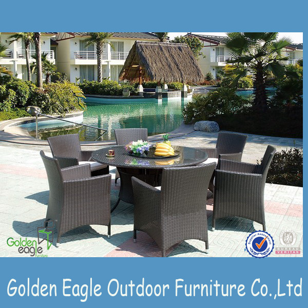 aluminium tube garden furniture set