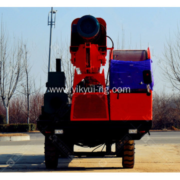 1000cm Wheel Type Long Auger Piling Machine