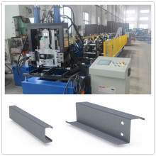 Automatically Adjustable Size CZ Purlin Roll Forming Equipment