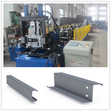 c to z shaped steel machine