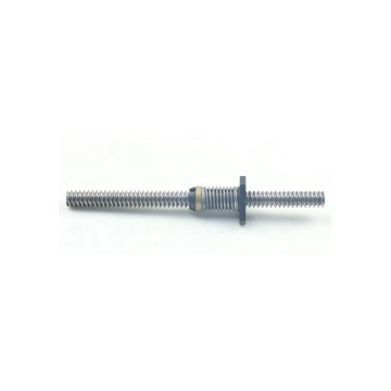Anti-backlash nut lead screw Tr10x4