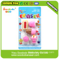 Father Christmas 3D Shaped Eraser