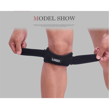 Two way adjustable anti slip knee support belt