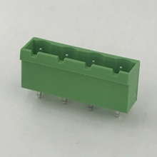 180 degree straight PCB terminal block connector