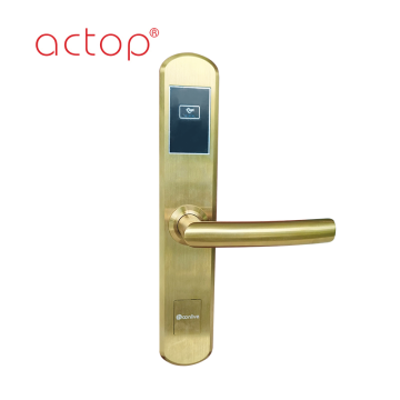 hotel card door lock access control lock