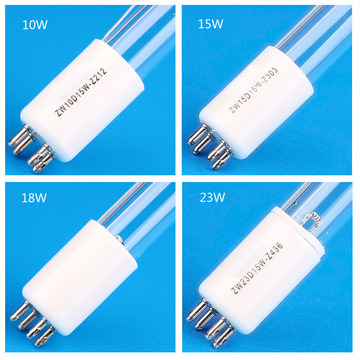 UV water disinfectant UVC germicidal lamp