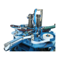 Automatic 2 heads sanding machine for metal ware