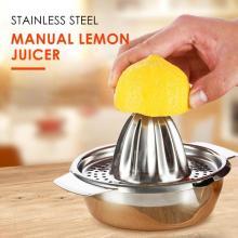 Multifunction Kitchen Mini Juicer Handhold Orange Lemon Juice Maker Stainless Steel Manual Squeezer Press Squeezer Citrus Juicer