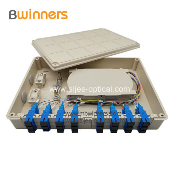 24 Core Fiber Ftth Splice Optic Termination Distribution Box