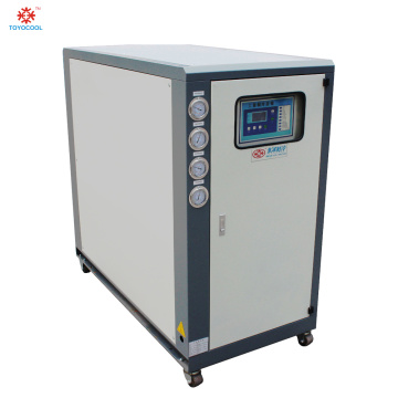 Online water cooled industrial chiller cooler