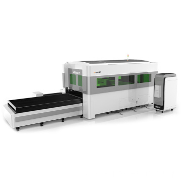 Big Power Metal Covering Fiber Laser Cutting Machine