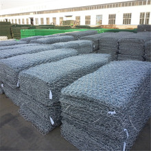 2.7mm Galvanized gabion basket anping hexagonal mesh