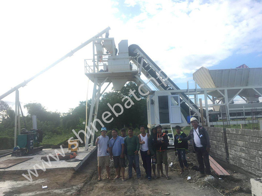 35 Mobile Batch Plant In Philippines