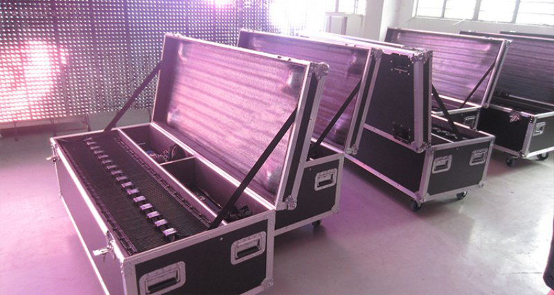 Flexible led mesh curtain display screens-packing